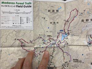 斑尾高原トレイルマップ2